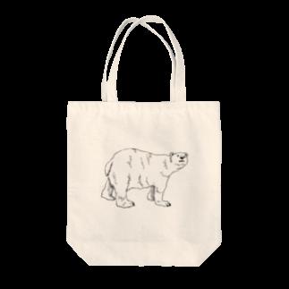 若林の透明クマ Tote bags