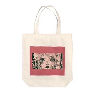 テクノロジーgirl Tote bags