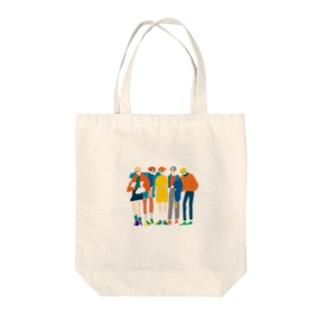 めがねボーイズ Tote bags
