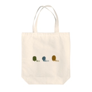 13girls 美術部トリオ Tote bags