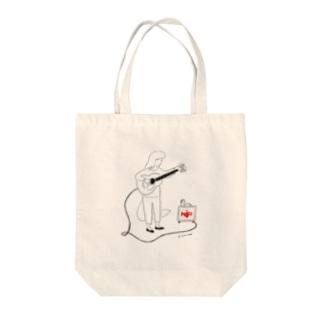 町田ノイズ×本田亮 Tote bags