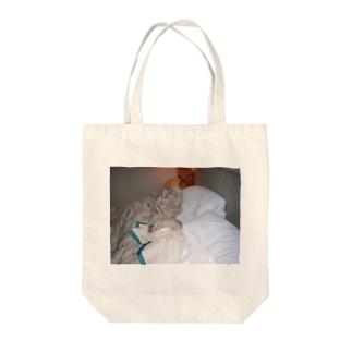 ベッド Tote bags