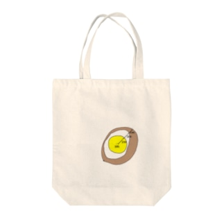 揚げ卵断面図 Tote bags