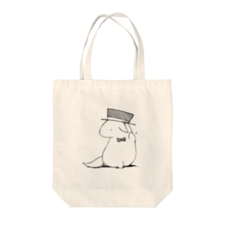 Mr.ハット Tote bags
