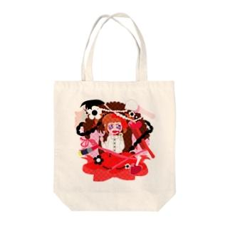 おしゃれちゃん Tote bags
