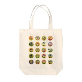 バッジあれこれ【テスト】 Tote bags
