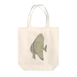 のっぺりツバメウオ Tote bags