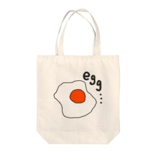 egg・・・ Tote bags