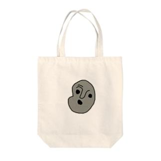 人面石くん Tote bags