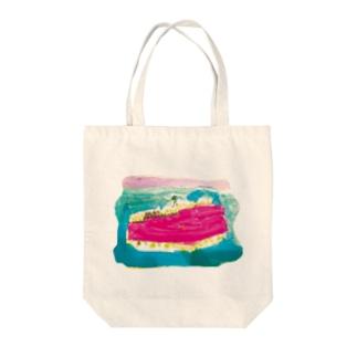 沼 Tote bags