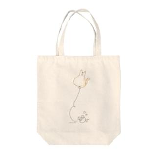ねずみの恋ver.2 Tote bags