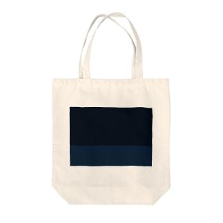 なんちゃってヘリンボーン(遊んでブルー) Tote bags