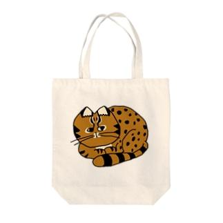 ツシマヤマネコくん Tote bags