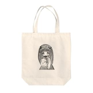ヘドレのリボンで首を吊る事を心に決めてる女の子 Tote bags