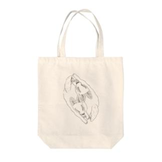 バター犬 Tote bags
