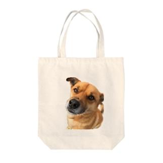 雑種犬こたろうくん Tote bags