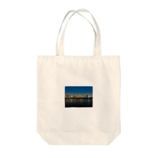 梅田の夜景 Tote bags