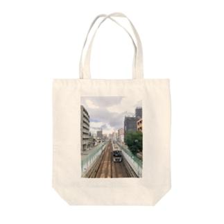 OSAKA 千里線 Tote bags