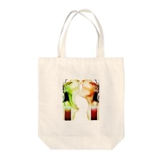 岐路 Tote bags