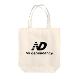 Arazonのノーディペンデンシー Tote bags