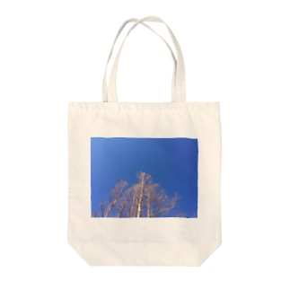 晴れた日のメタセコイア Tote bags