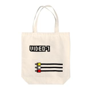VIDEO 1 Tote bags