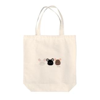 3 chinchilla Tote bags