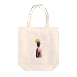 植木鉢君 Tote bags
