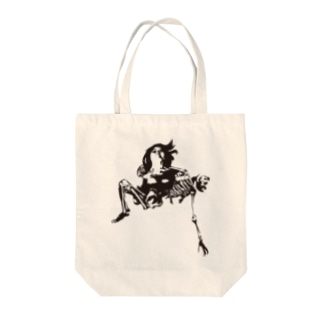Embrace Skeleton Tote bags