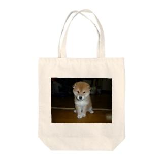 柴わんこ Tote bags