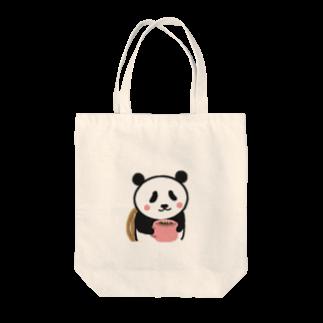 futaba shop(フタバショップ)のボクパンダ「ゆっくり休んでね」 Tote bags