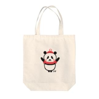 ボクパンダ「お元気ですか」 Tote bags