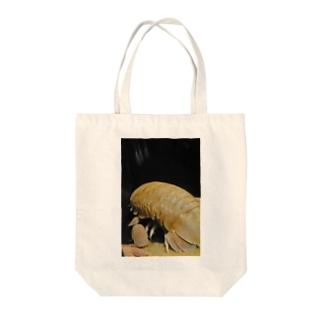 GUSOKUMUSHI Tote bags