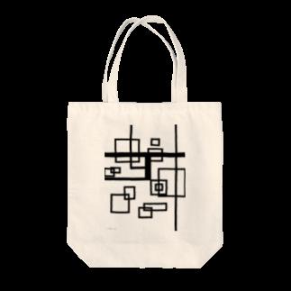 misc.aiのアールデコ調 Tote bags