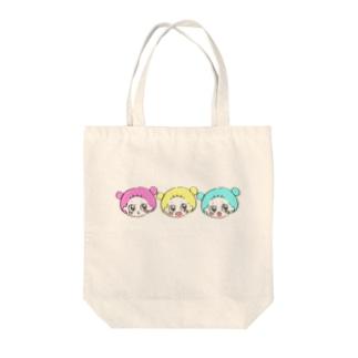 くま子ちゃん Tote bags