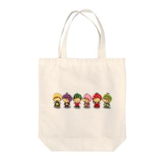 fruits gokko Tote bags