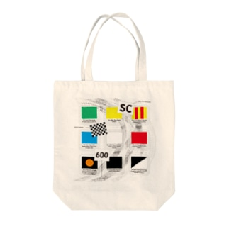 Motorsports FLAGs Tote bags