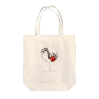 アラレちゃんグラス Tote bags