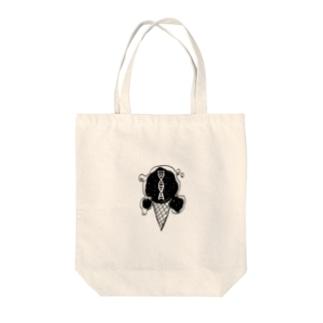ガストアイス Tote bags