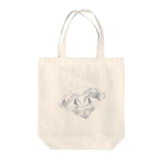 ダイヤなやつ Tote bags
