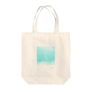 雨のしずく Tote bags
