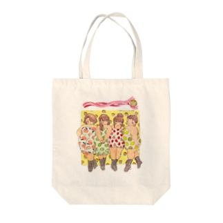 Curvy fruits girls! Tote bags