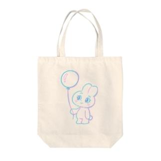 うさぎのめるちゃん Tote bags