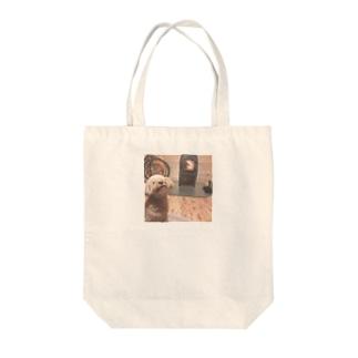 薪ストーブ Tote bags