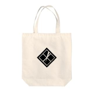 家紋 同田貫正国 Tote bags