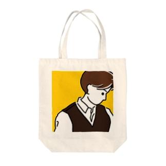 MASH CUT Tote bags