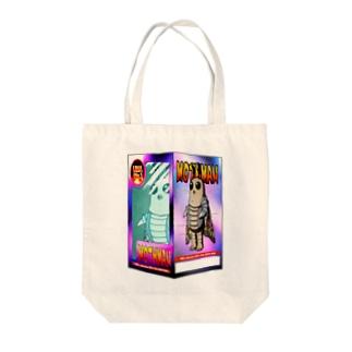 モスマンフィギュア Tote bags