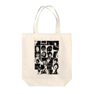 モノクロ/GINTA Tote bags