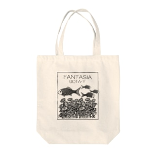 FANTASIA~ひまわり~  Tote bags