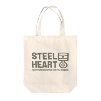 STEEL HEART 〜デフォルメピストンリング〜 Tote bags